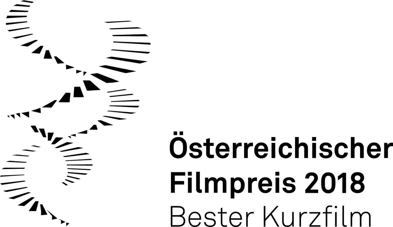 Bester Kurzfilm Logo Österreichischer Filmpreis 2018